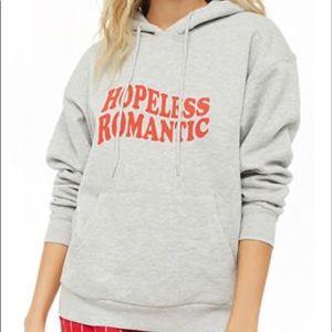 Hopeless Romantic Graphic Hoodie